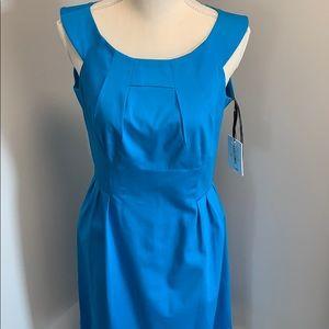 Calvin Klein Turquoise Dress, Size 6